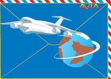 Free Airmail Royalty Free Stock Photo - 16409485