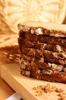 Fresh Crackling Bread Stock Photos