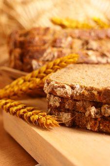 Fresh Crackling Bread Royalty Free Stock Photo