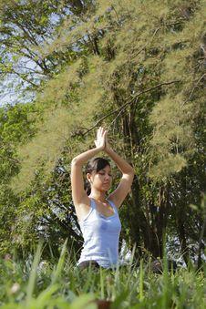 Free Yoga Pose Stock Photo - 16409890