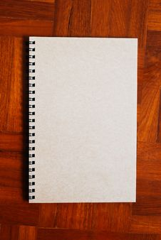Free Brown Notebook On The Parquet Background Royalty Free Stock Photos - 16409958