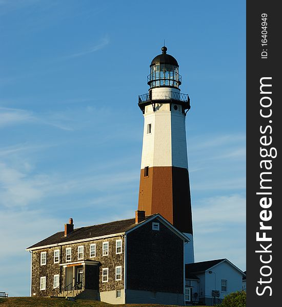 Lighthouse at Montauk Bay