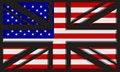 Free UK/USA Flag Stock Image - 16415681