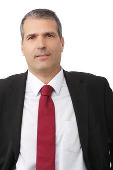 Free Handsome Businessman Portrait Stock Images - 16410114