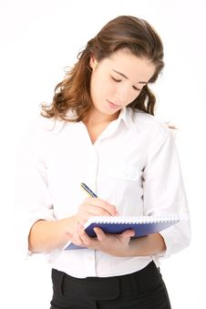 Free Portrait Of Beautiful Business Woman Stock Photo - 16410140