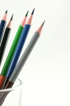 Free Color Pencil Royalty Free Stock Photos - 16410948