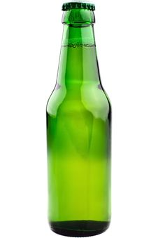 Free Green Beer Bottle Royalty Free Stock Image - 16411336