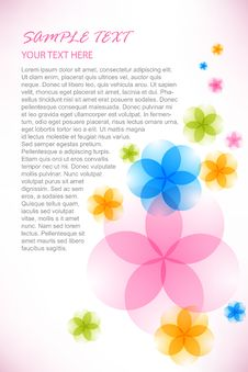 Free Bright Floral Background Stock Images - 16412594