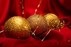 Free Christmas Balls Stock Photography - 16412812