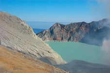 Free Crater Of Ijen Royalty Free Stock Photos - 16413808