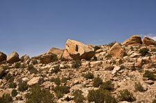 Free Desert Boulders Stock Image - 16413831