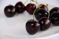 Free Black Cherries Royalty Free Stock Photos - 16414408