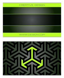 Free Business Cards Set Royalty Free Stock Image - 16415346