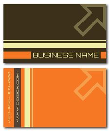 Free Business Cards Set Royalty Free Stock Photography - 16415347