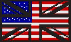 Free UK/USA Flag Stock Image - 16415681