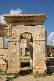 Free Roman Ruins, Libya Stock Image - 16415991