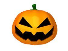 Free 3d Halloween Pumpkin Stock Images - 16419354