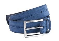 Free Blue Man Belt Stock Image - 16419381