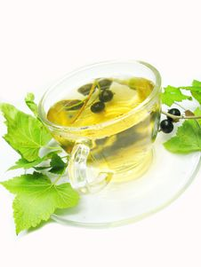 Free Herbal Fruit Tea With Black Currant Extract Stock Image - 16419421