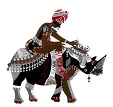 Free African Traditions Royalty Free Stock Photography - 16419487