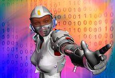 Free The Robot Royalty Free Stock Photos - 16419578