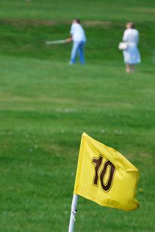 Free Golf Players Stock Photo - 16419690