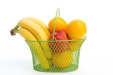 Free Basket Of Fruits Stock Photography - 16419732
