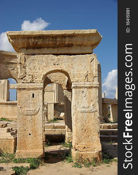 Roman ruins, Libya