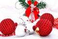 Free Christmas Balls Royalty Free Stock Photos - 16422688