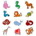 Free Cartoon Animals Royalty Free Stock Photography - 16426937