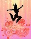 Free Jumping Woman Royalty Free Stock Photos - 16426968