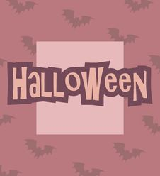 Free Halloween Card Stock Photo - 16420050