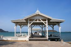Free Pavilion In Sri Chang Island, East Of Thailand Royalty Free Stock Photo - 16421245