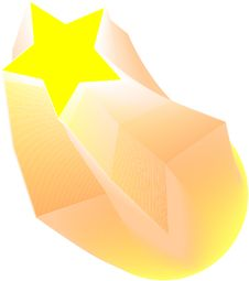 Free Yellow Star Royalty Free Stock Photography - 16421907