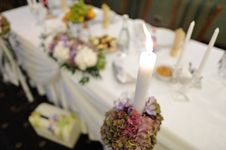 Free Wedding Table Royalty Free Stock Photography - 16423427