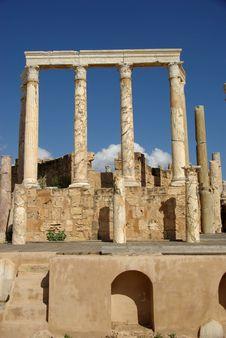 Free Roman Theatre, Libya Royalty Free Stock Photos - 16424538