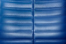 Free Blue Leather Texture Royalty Free Stock Photography - 16424567