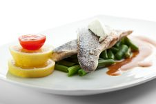 Free Steamed Fish Stock Image - 16426201
