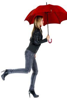Free Under The Rain Royalty Free Stock Photo - 16426265