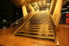 Free Golden Stairway Stock Photography - 16426432
