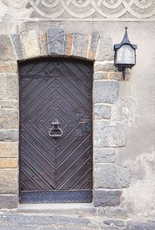 Free Old Medieval Door Stock Image - 16427011