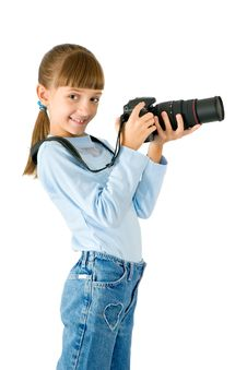 Free The Girl - Photographer Stock Photography - 16427382