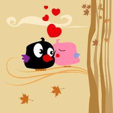 Free Love Birds Stock Image - 16427411
