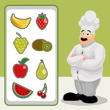 Free Cook With Fruit Royalty Free Stock Photos - 16427518