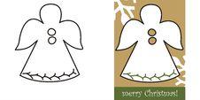 Christmas Angel Royalty Free Stock Photo