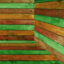 Free Colorful Wood Background Stock Image - 16427731