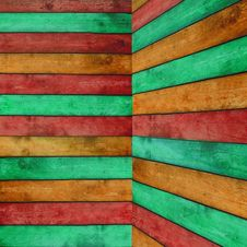 Free Colorful Wood Background Stock Photos - 16427803