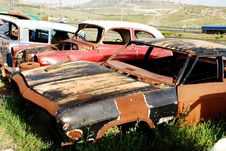 Free Car Graveyard Stock Photos - 16428413