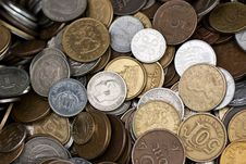 Free Coins Royalty Free Stock Photography - 16428497