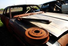 Free Old Abandoned Car Stock Photos - 16428503